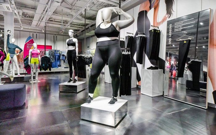 Nike Plus Size Mannequin