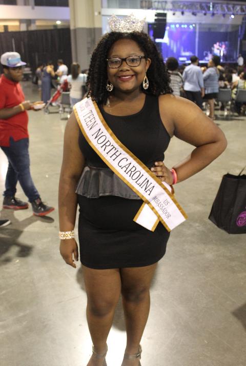 Meet Kaleya Williams Miss Black Teen North Carolina US Ambassador 2016