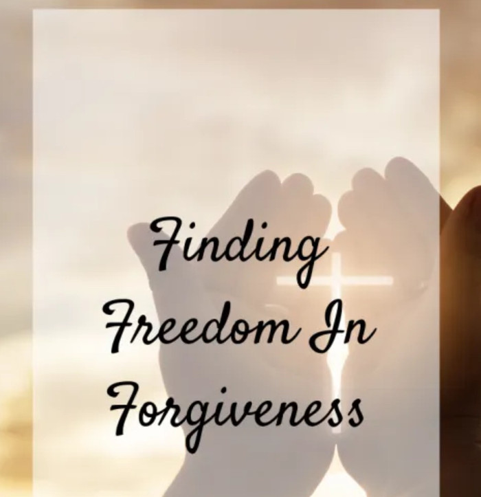 Forgiveness is key to moving on