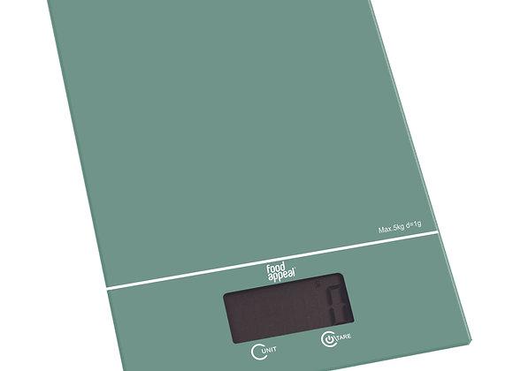 """משקל מטבח דיגיטלי 5 ק""""ג COLOR מבית Food Appeal"""
