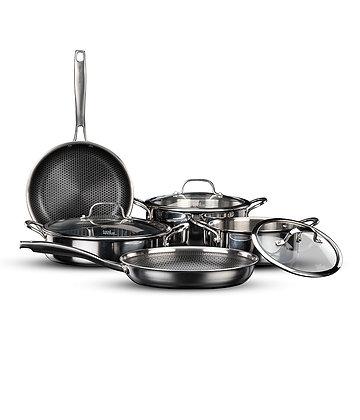 סט 8 חלקים נירוסטה Food appeal Hybrid Pan