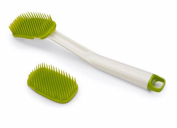 מברשת סיליקון לניקוי הכלים CleanTech ירוק מבית JOSEPH JOSEPH