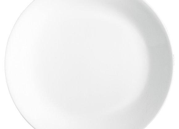 סט 6 צלחות מנה עיקרית דגם Winter Frost White 00N, קורל