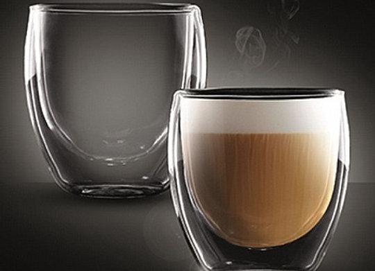 """סט 2 כוסות דאבל 250 מ""""ל CAPPUCCINO COLOMBIA מבית Food Appeal"""