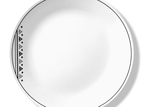 סט 6 צלחות מנה עיקרית דגם 151 Fusion Charcoal, קורל