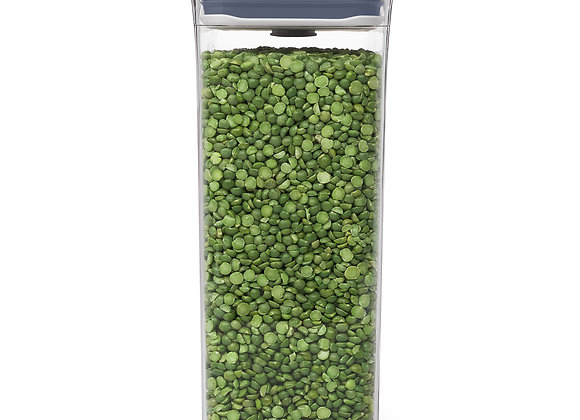 מיכל אחסון POP מלבן בינוני 2.6 ליטר