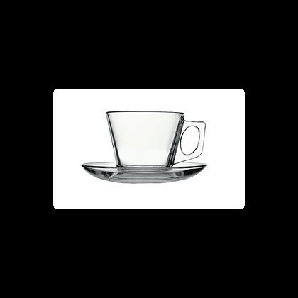 """כוס אספרסו מרובעת 80 ס""""ל"""