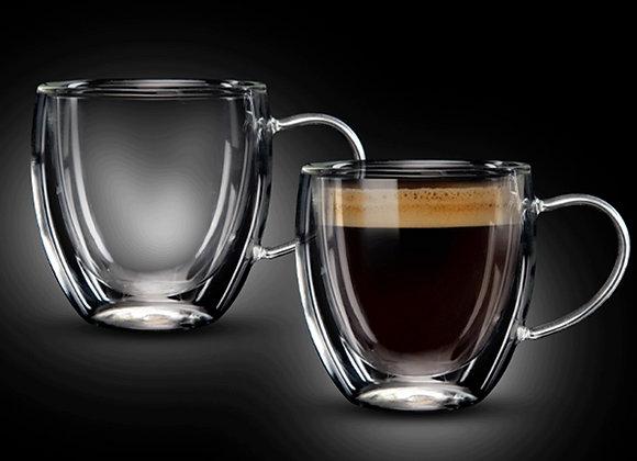 """זוג כוסות 90 מ""""ל Double Glass דגם COSTA מבית Food Appeal"""