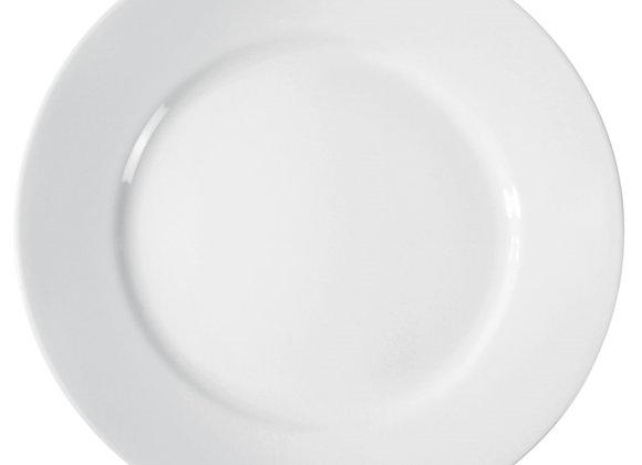 סט 6 צלחות מנה עיקרית דגם 100 Dazzling White, קורל
