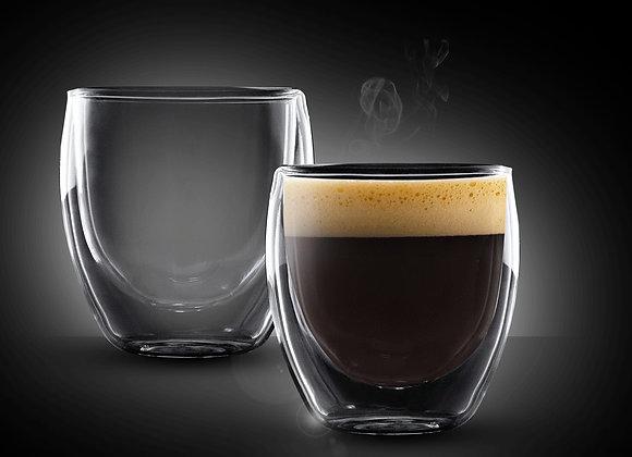 """זוג כוסות 80 מ""""ל Double Glass דגם COLOMBIA מבית Food Appeal"""