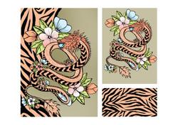 The prints I created
