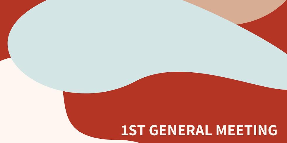 1st General Meeting