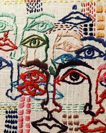 A close up of Tess Perlows- Faces