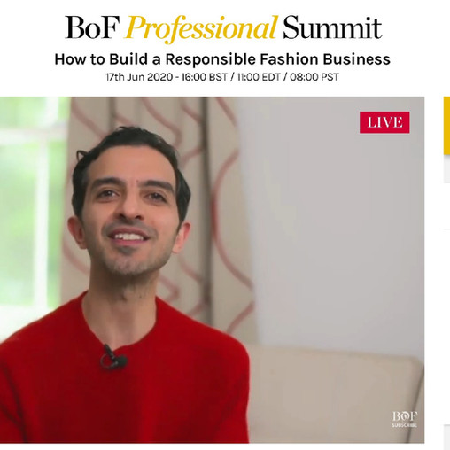 After Watching BoF Professional Summit, Bye Bye Fast Fashion And Racism?