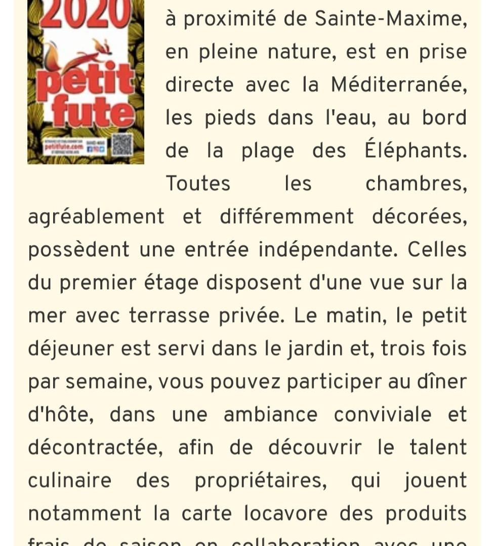 Mention de PetitFuté, guide de voyages depuis 1976