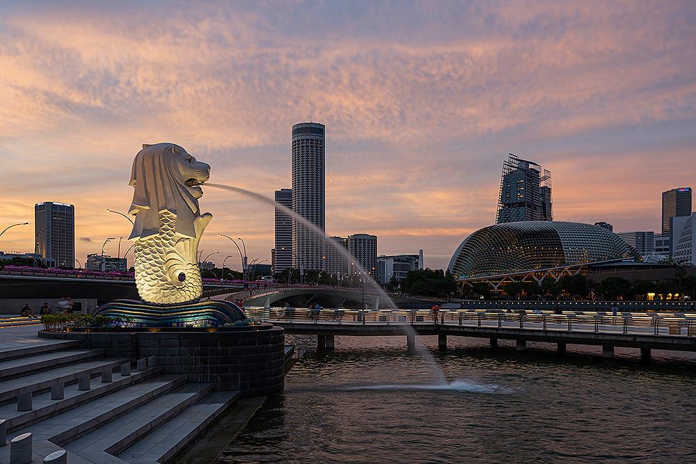 เมอร์ไลอ้อน สิงคโปร Merlion Singapore