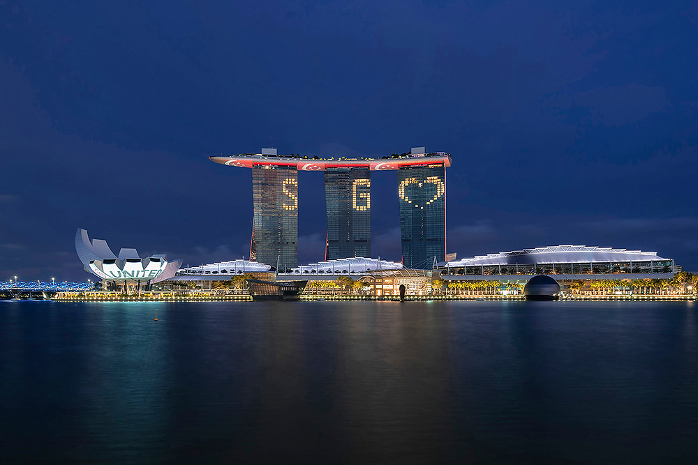 SG united marina bay sands hotel