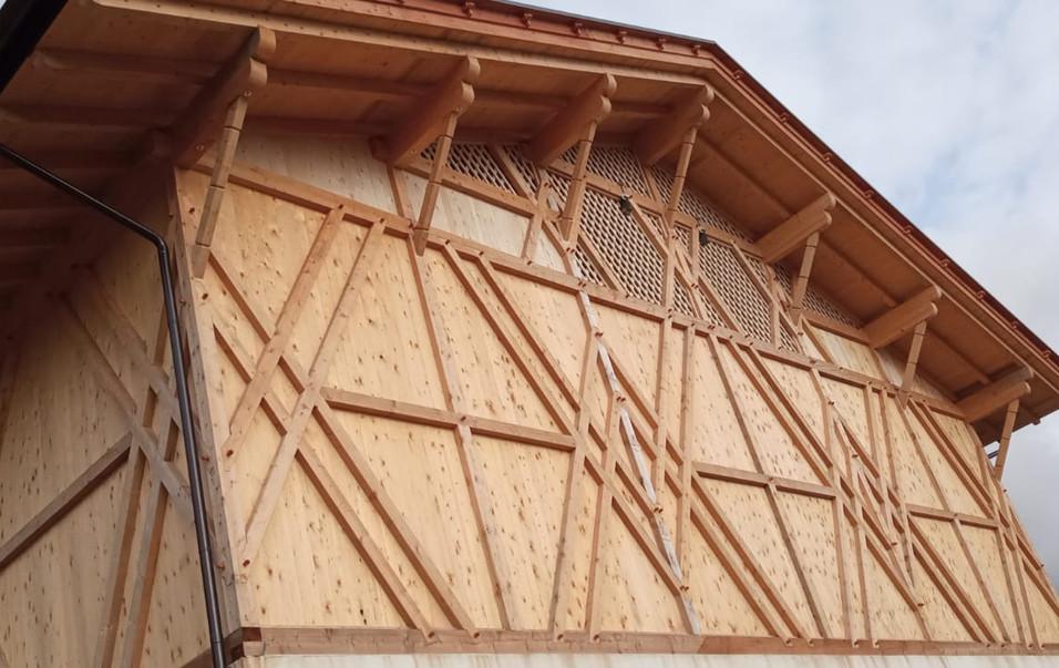Landwirtschaftliches Gebäude in Proveis