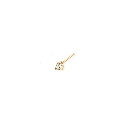 MARTINI Studs- 9k gold & diamonds