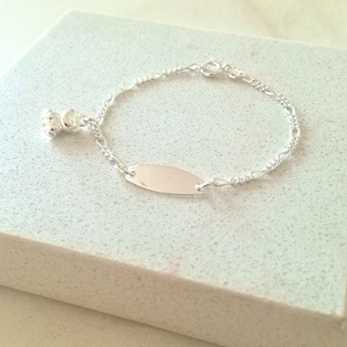 Baby Charm Bracelet-Sterling silver