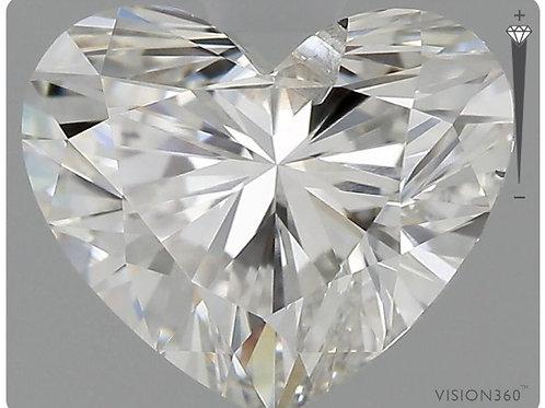 Lab- Grown Diamond- 1.01ct Heart
