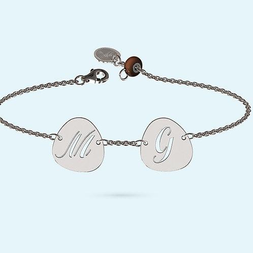 Pebble Bracelet- 925 Sterling silver