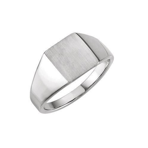 SYDNEY signet ring- Sterling silver