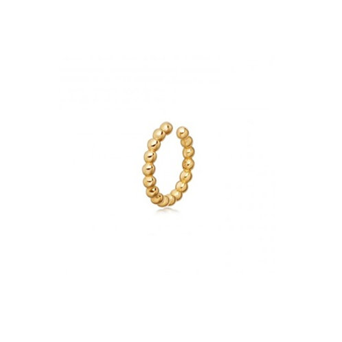 BEADED Ear Cuff- 9k gold