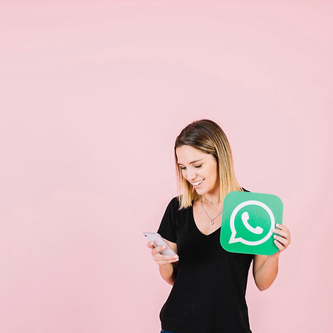 happy-woman-with-whatsapp-icon-using-cel