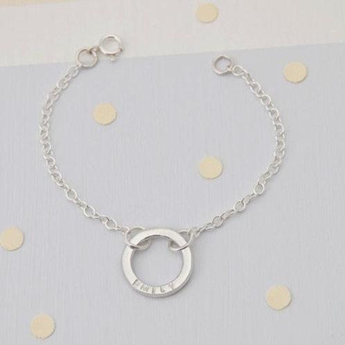 CIRCLE OF LIFE bracelet- Sterling silver