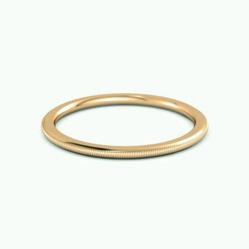 EVELYN ring- 9k gold