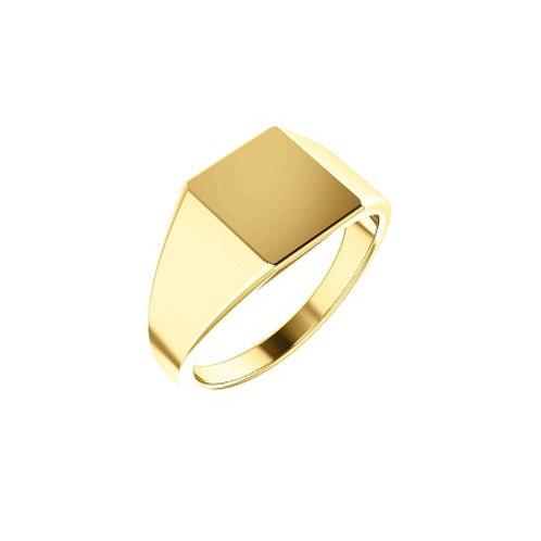 SYDNEY signet ring- 9k gold