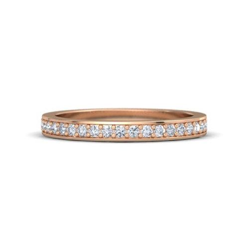 LYNDSAY eternity ring- 18k gold diamond Eternity
