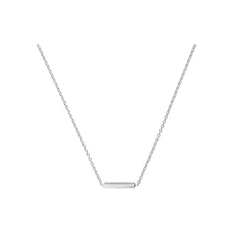 Mini BAR necklace- Sterling silver