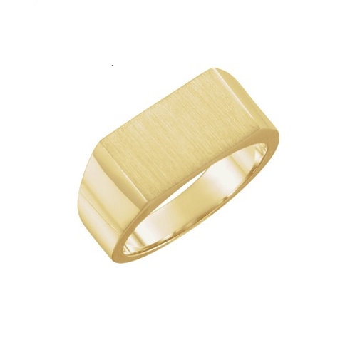 SEATTLE signet ring-  9k gold