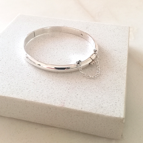 Baby Bangle-Sterling silver