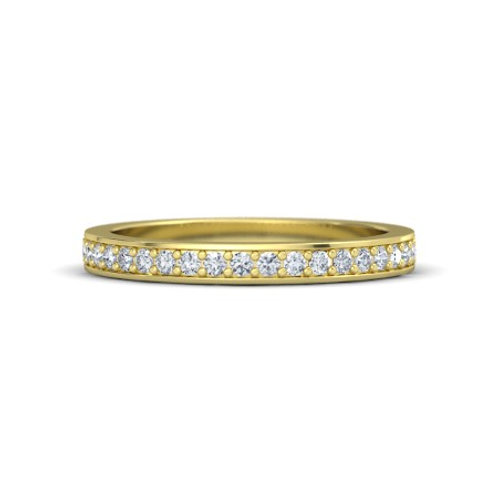 LYNDSAY eternity ring- 9k gold & diamonds