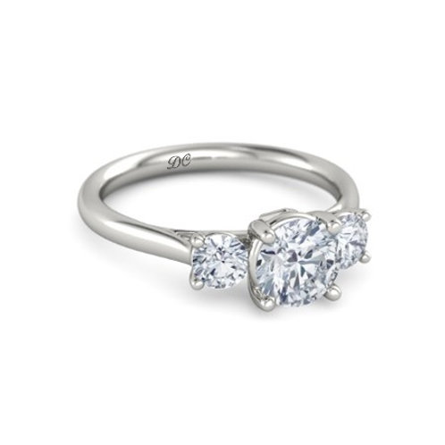 MEGAN 9k Gold Diamond Engagement Ring