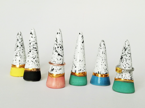 Hand-made RING CONES