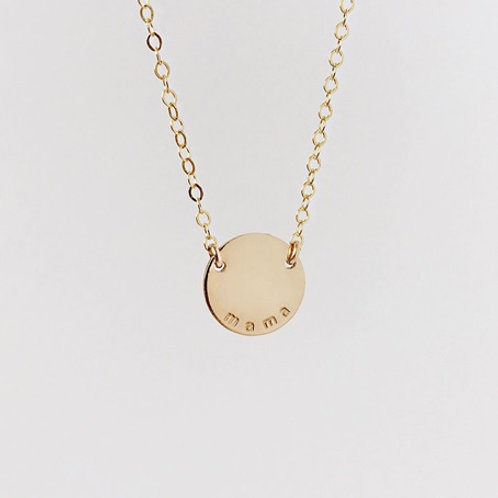 Name necklace- 9k gold