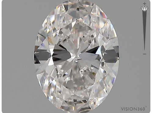 Lab- Grown Diamond- 1.51ct Oval