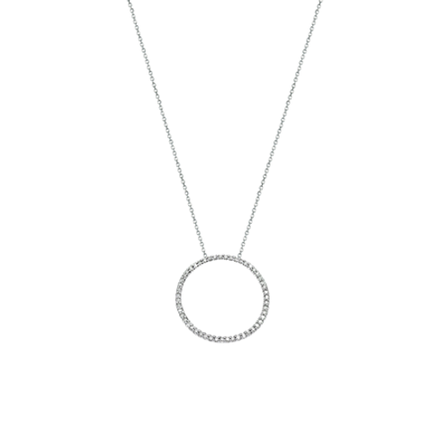 Circle of Life necklace- 9k gold & Diamonds
