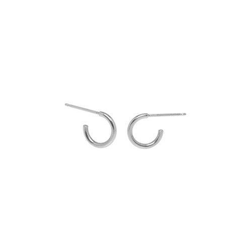 SNUGGIE hoops- Sterling silver