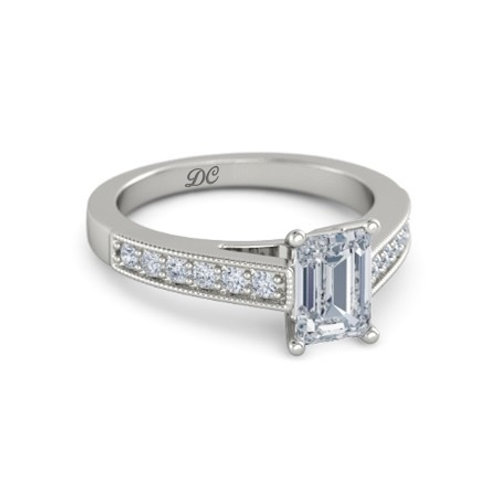 OLIVIA 18k Gold Diamond Engagement Ring