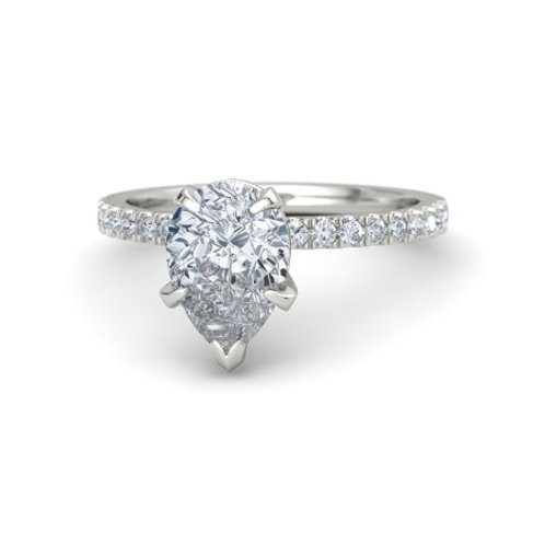 VICTORIA 18k Gold Diamond Engagement Ring