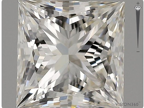 Lab- Grown Diamond- 1.51ct Princess