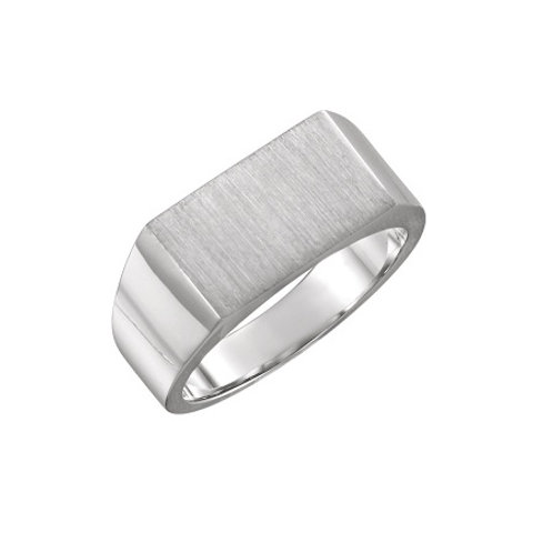 SEATTLE signet ring- Sterling silver