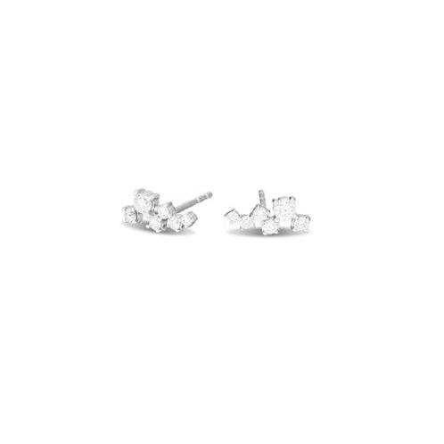 CONSTELLATION Stud-  Sterling silver & gemstones