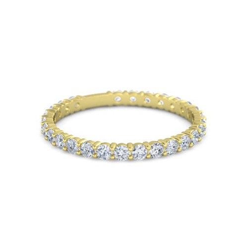 AMAL eternity ring-18k gold & diamonds