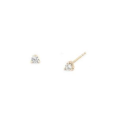 MARTINI Studs- 9k gold & diamonds